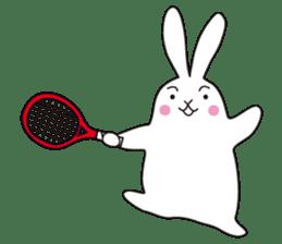 my pace tennis rabbit 2 sticker #11487362