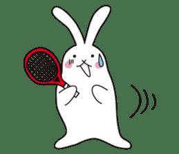 my pace tennis rabbit 2 sticker #11487364