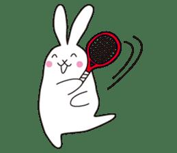 my pace tennis rabbit 2 sticker #11487365