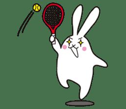 my pace tennis rabbit 2 sticker #11487366