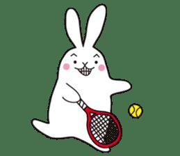 my pace tennis rabbit 2 sticker #11487368