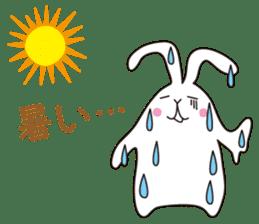 my pace tennis rabbit 2 sticker #11487370