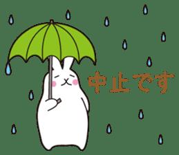 my pace tennis rabbit 2 sticker #11487371