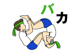 New Gymnastic formation 2 sticker #11489075