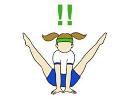 New Gymnastic formation 2 sticker #11489108