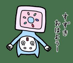 Suzuki only. sticker #11495482