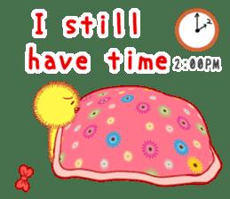 Annoying lazy chick sticker #11496995