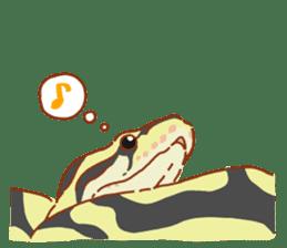Ball python sticker #11497728