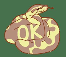 Ball python sticker #11497729