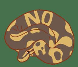 Ball python sticker #11497730