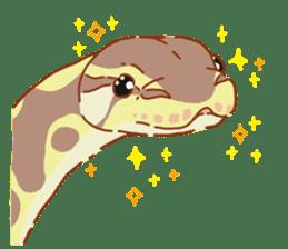 Ball python sticker #11497731