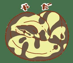 Ball python sticker #11497741