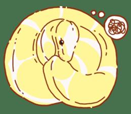 Ball python sticker #11497746