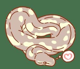 Ball python sticker #11497752