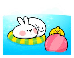 "Spoiled Rabbit ""Summer"" sticker #11500469"