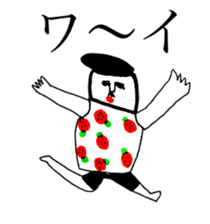 STRAWBERRY CLOTHES 3 sticker #11510215