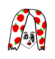 STRAWBERRY CLOTHES 3 sticker #11510216