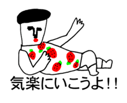 STRAWBERRY CLOTHES 3 sticker #11510238