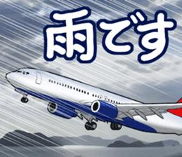 AirplaneVol.1(Japanese Langage) sticker #11523268