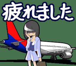 AirplaneVol.1(Japanese Langage) sticker #11523271