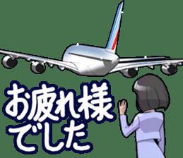 AirplaneVol.1(Japanese Langage) sticker #11523283
