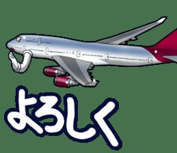AirplaneVol.1(Japanese Langage) sticker #11523286