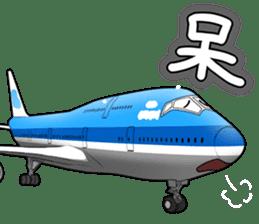 AirplaneVol.1(Japanese Langage) sticker #11523291