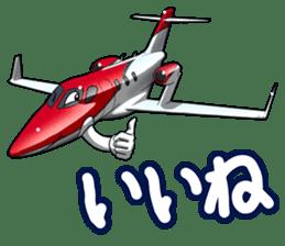AirplaneVol.1(Japanese Langage) sticker #11523292
