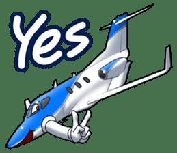 AirplaneVol.1(Japanese Langage) sticker #11523293
