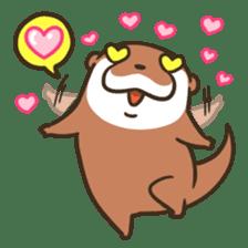 Kotsumetti of Small-clawed otter 06 sticker #11530016