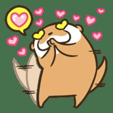 Kotsumetti of Small-clawed otter 06 sticker #11530017