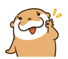 Kotsumetti of Small-clawed otter 06 sticker #11530021