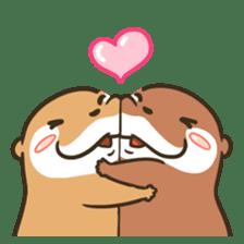 Kotsumetti of Small-clawed otter 06 sticker #11530022