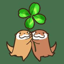 Kotsumetti of Small-clawed otter 06 sticker #11530025