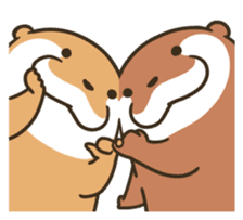 Kotsumetti of Small-clawed otter 06 sticker #11530027