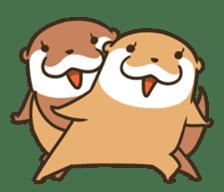 Kotsumetti of Small-clawed otter 06 sticker #11530029