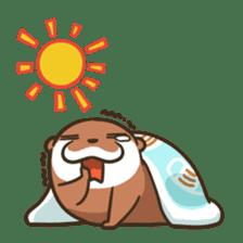 Kotsumetti of Small-clawed otter 06 sticker #11530032