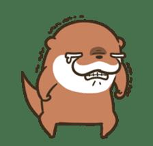 Kotsumetti of Small-clawed otter 06 sticker #11530036