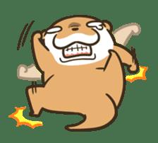 Kotsumetti of Small-clawed otter 06 sticker #11530037