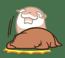 Kotsumetti of Small-clawed otter 06 sticker #11530038