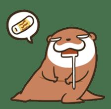 Kotsumetti of Small-clawed otter 06 sticker #11530040