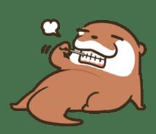 Kotsumetti of Small-clawed otter 06 sticker #11530042