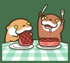 Kotsumetti of Small-clawed otter 06 sticker #11530045