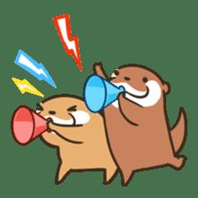 Kotsumetti of Small-clawed otter 06 sticker #11530046