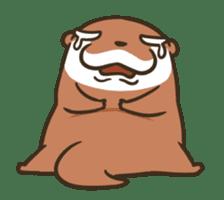Kotsumetti of Small-clawed otter 06 sticker #11530048