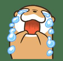 Kotsumetti of Small-clawed otter 06 sticker #11530049