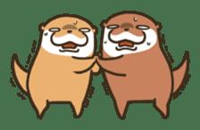 Kotsumetti of Small-clawed otter 06 sticker #11530051