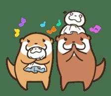 Kotsumetti of Small-clawed otter 06 sticker #11530052