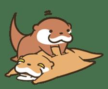 Kotsumetti of Small-clawed otter 06 sticker #11530054