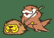 Kotsumetti of Small-clawed otter 06 sticker #11530055